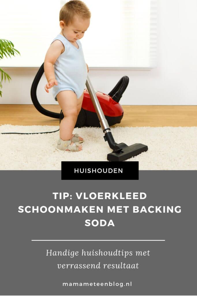 TIP_ Vloerkleed schoonmaken met Backing Soda mamameteenblog.nl