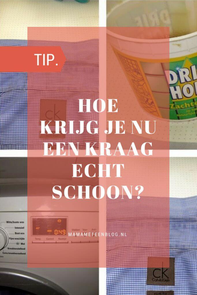 hoe krijg je een kraag schoon mamameteenblog.nl
