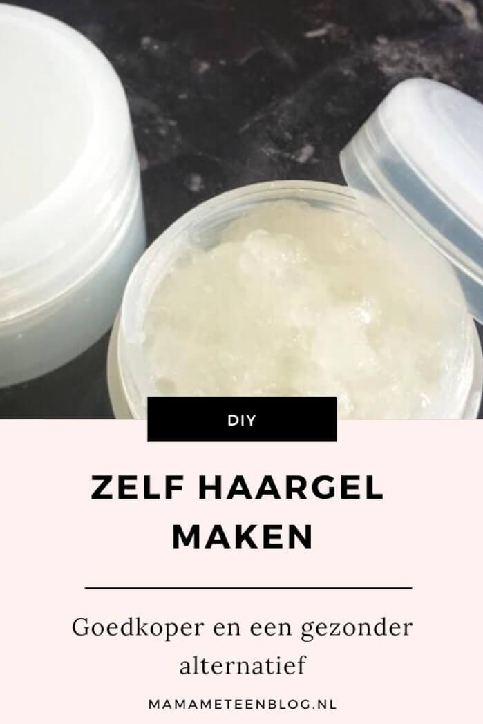 diy haargel maken mamameteenblog.nl