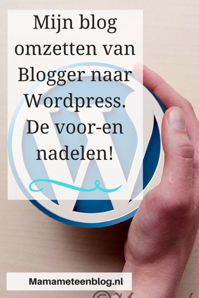Wordpress Blogger mamameteenblog.nl