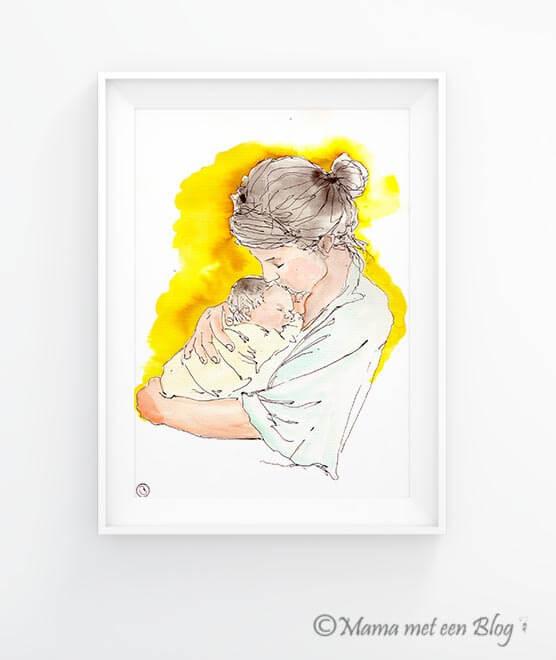 Winactie watercolour aquarel mamameteenblog
