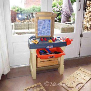 speelgoed werkbank kind peuter kleuter Real Projects stap 2 emob