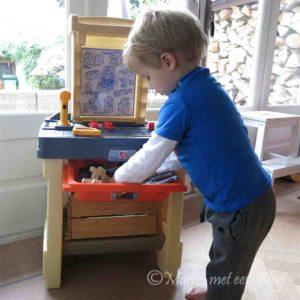 speelgoed werkbankje kind peuter kleuter Step2 emob