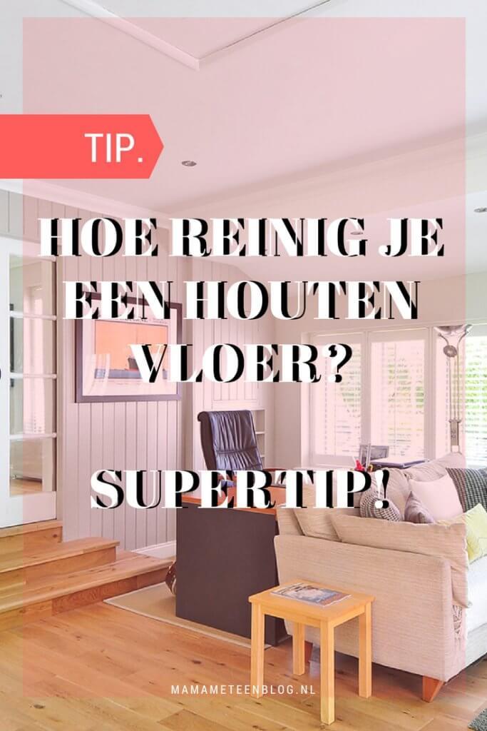 Houten vloer reinigen mamameteenblog.nl