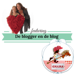 de blogger en de blog website4mama mamameteenblog.nl