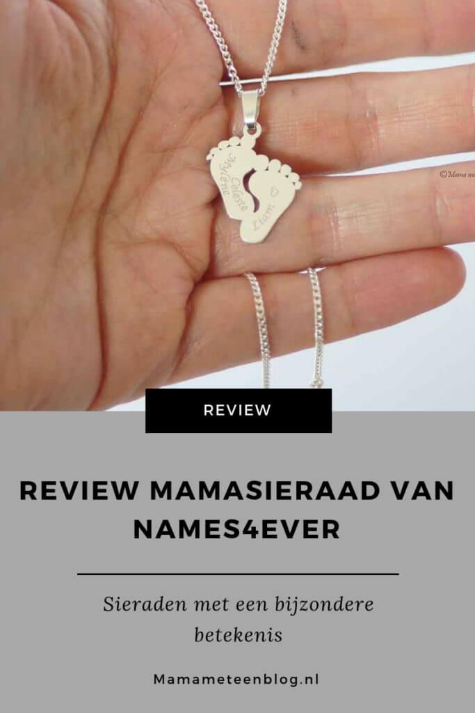 Review Mamasieraad van Names4ever mamameteenblog.nl