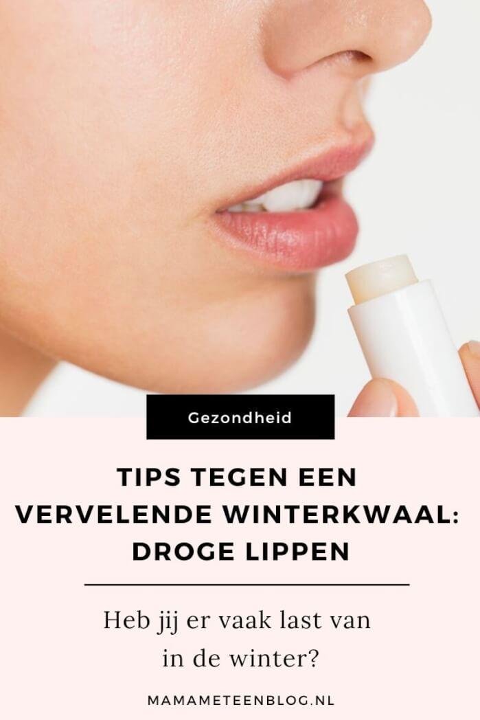 Tips tegen een vervelende winterkwaal_ droge lippen mamameteenblog.nl