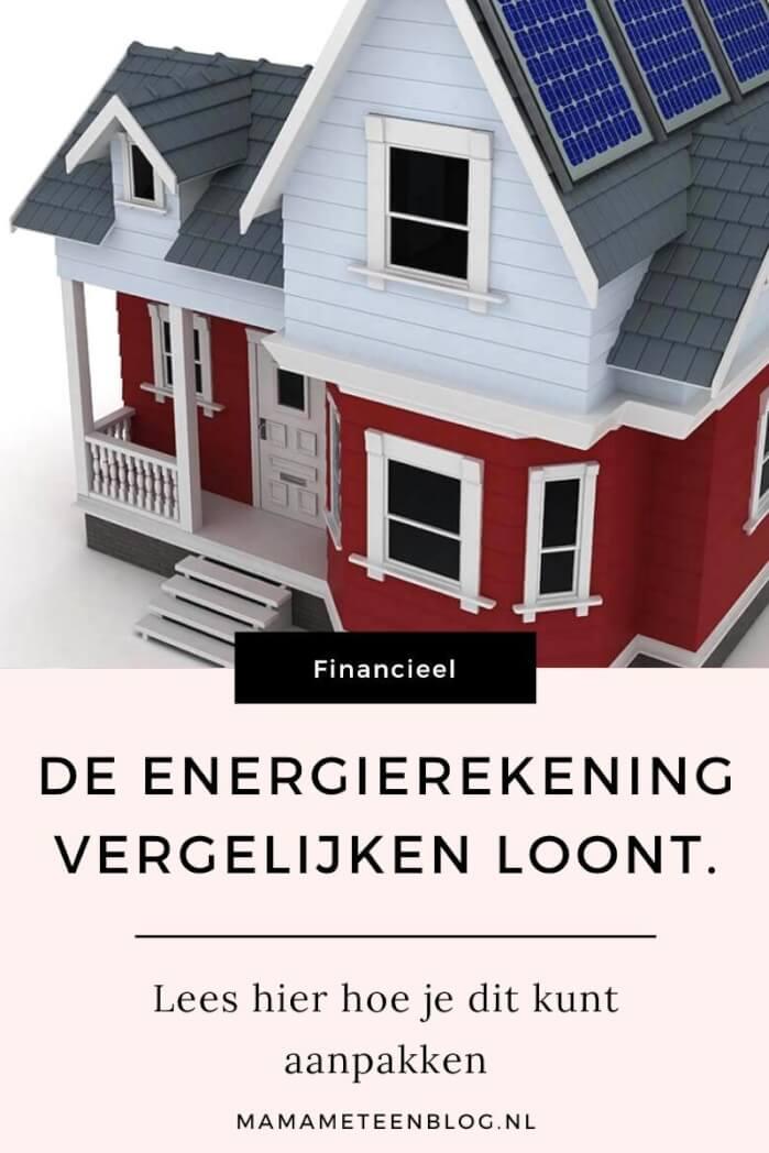 de energierekening vergelijken loont mamameteenblog.nl