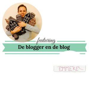 De blogger en de blog emmeke mamameteenblog.nl