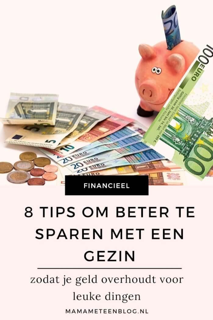 8 tips om beter te sparen met een gezin mamameteenblog.nl