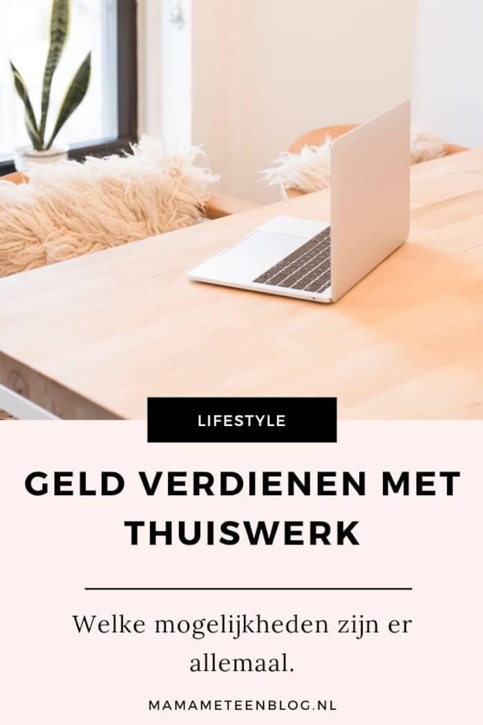 Geld verdienen met thuiswerk mamameteenblog.nl