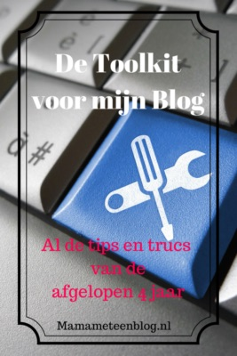 toolkit blog mamameteenblog.nl