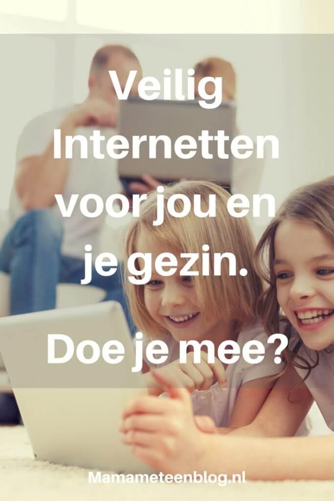 Veilig internetten doe je mee mamameteenblog.nl