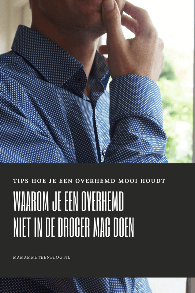 een overhemd mooi houden mamameteenblog.nl