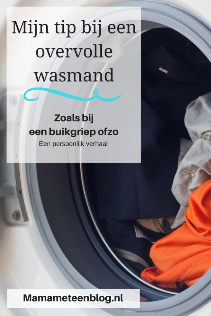 Buikgriep wasmand mamameteenblog.nl