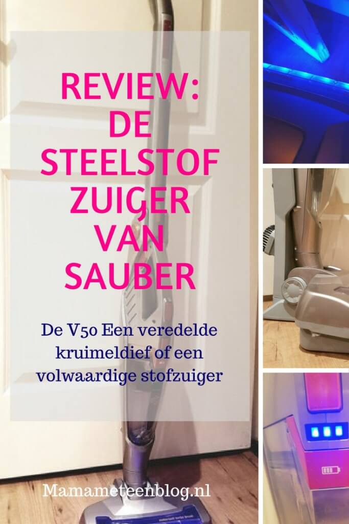 review sauber V50 steelstofzuiger mamameteenblog.nl