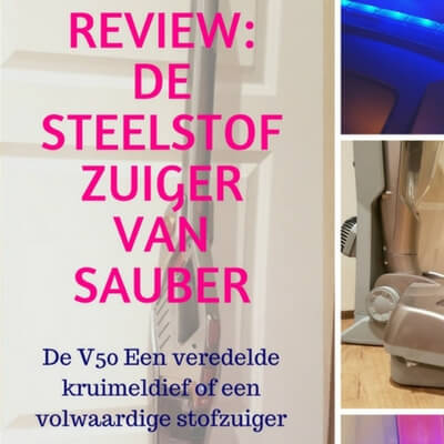 Sauber steelstofzuiger V50