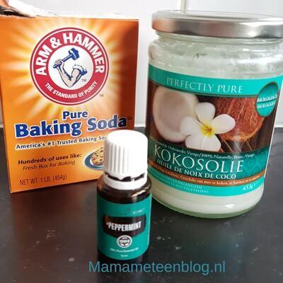tandpasta diy zelf maken mamameteenblog.nl