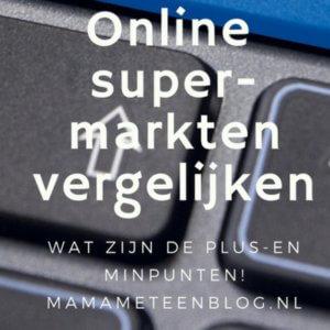 vergelijken Online supermarkten mamameteenblog.nl