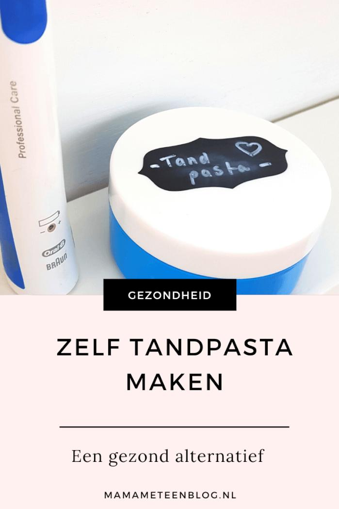 zelf tandpasta maken mamameteenblog.nl