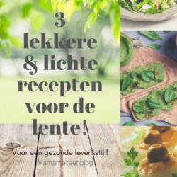 Lichte lekker recepten lente mamamameteenblog.nl