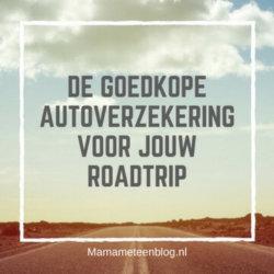 Roadtrip goedkope autoverzekering Mamameteenblog.n