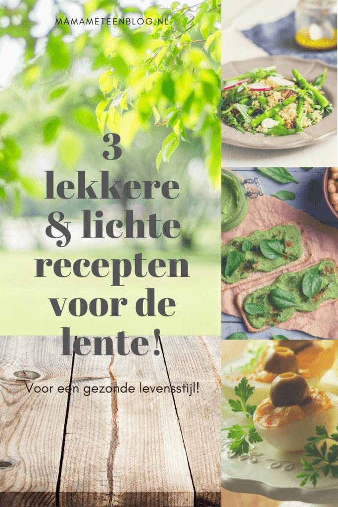 Lenterecepten gezond mamameteenblog.nl