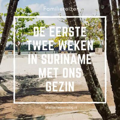 De eerste twee weken in Suriname met ons gezin Mamameteenblog.nl