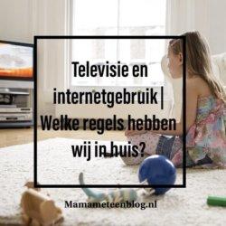 Televisie en internetgebruik mamameteenblog.nl