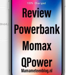 Review Powerbank Momax QPower mamameteenblog.nl