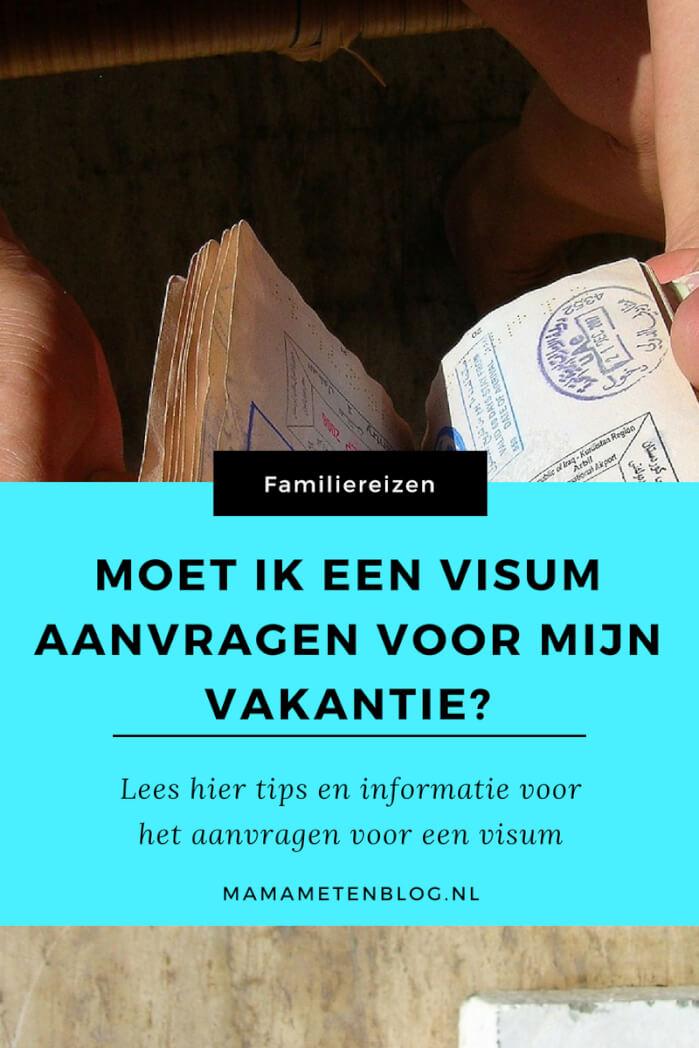 VISUM AANVRAGEN mamameteenblog.nl