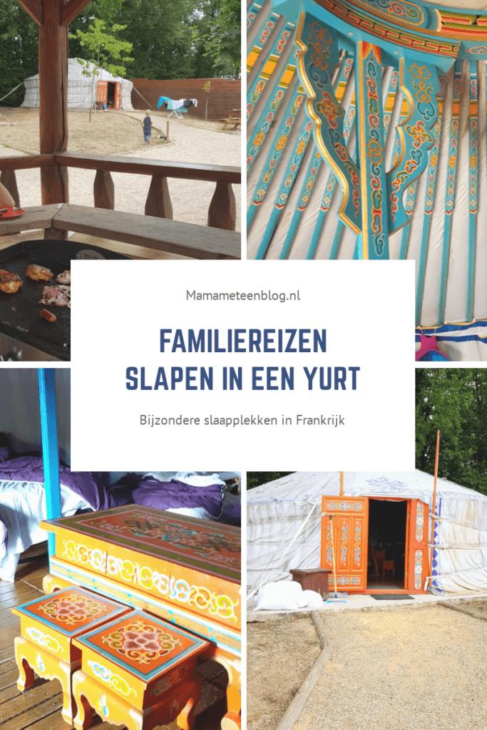 Slapen in een yurt familiereizen mamameteenblog.nl