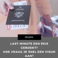 reis geboekt visum aanvragen mamameteenblog