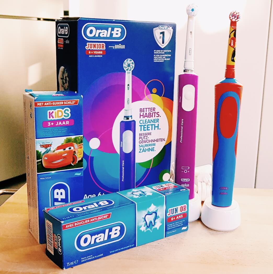 Elektrische tandenborstel oral-B Mamameteenblog.nl