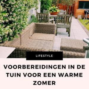 voorbereidingen tuin zomer mamameteenblog.nl