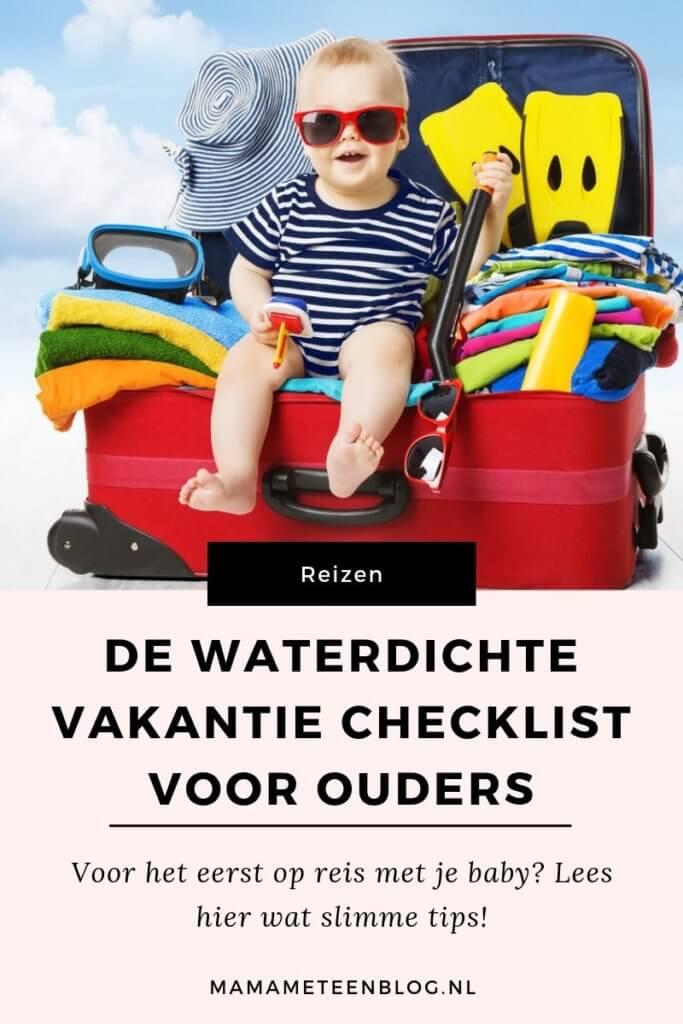 inpaklijst vakantie ouders mamameteenblog.nl