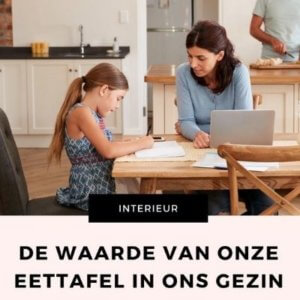 eettafel gezin mamameteenblog.nl