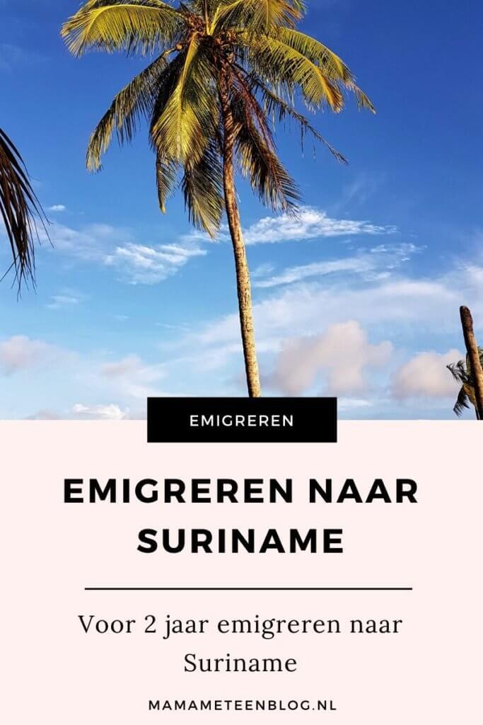 emigreren naar Suriname mamameteenblog.nl