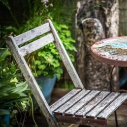 Groene aanslag tuin verwijderen mamameteenblog.nl