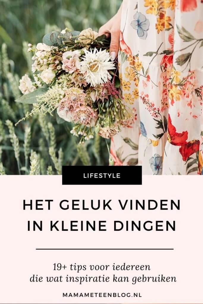 geluk in kleine dingen tips mamameteenblog.nl