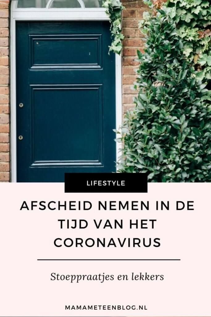 afscheid coronavirus mamameteenblog.nl
