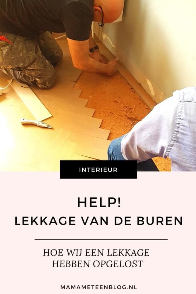 lekkage van de buren mamameteenblog.nl