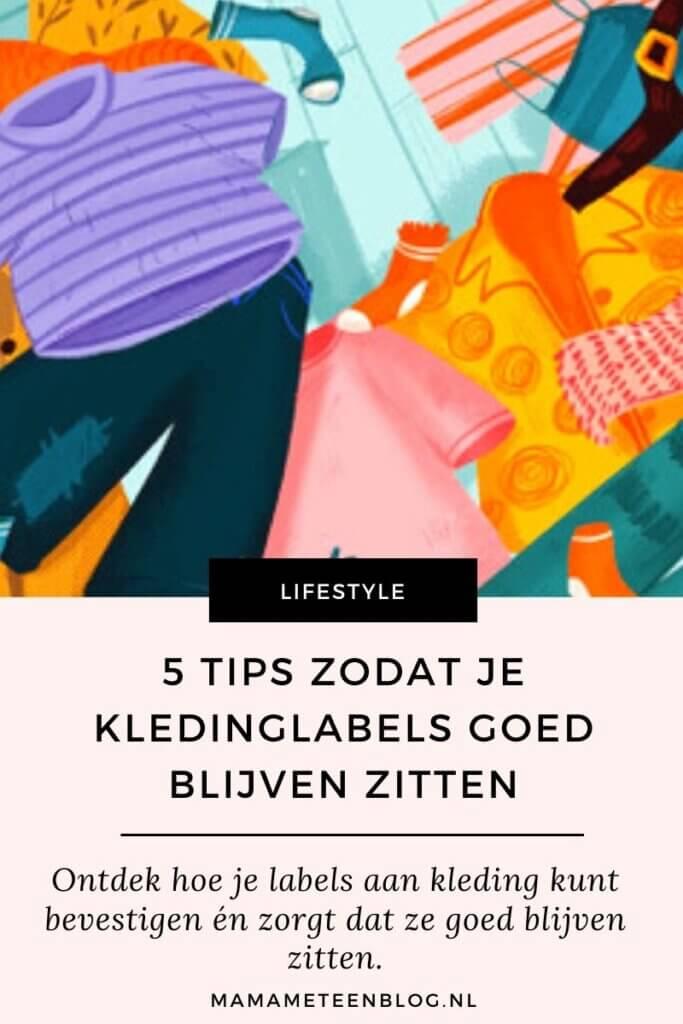 Tips kledinglabels goed vastzetten mamameteenblog.nl