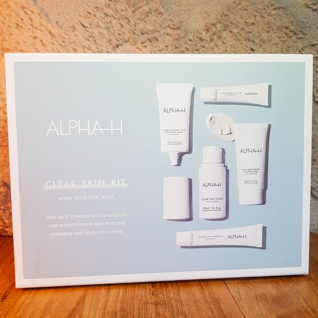 verpakking clear skin alpha-h Mamameteenblog.nl
