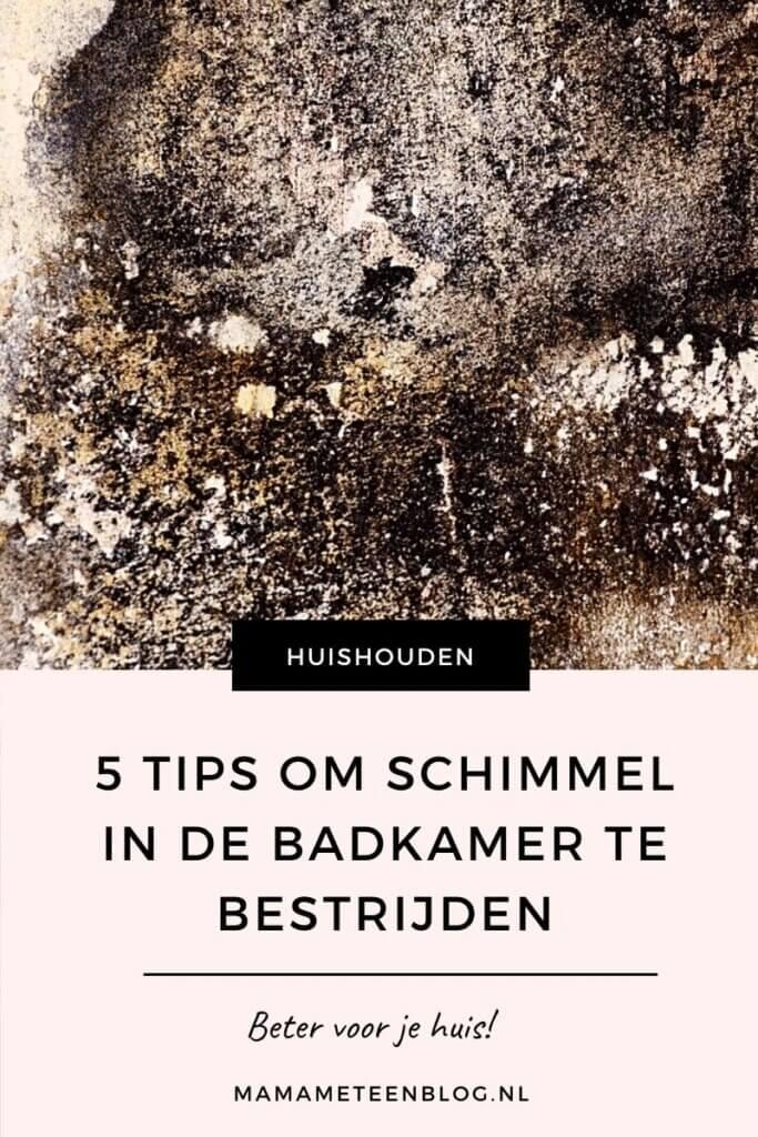 5 tips om schimmel in de badkamer te bestrijden mamameteenblog.nl