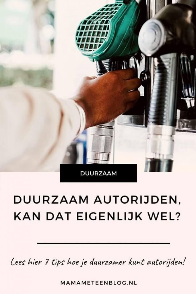 duurzaam autorijden mamameteenblog.nl
