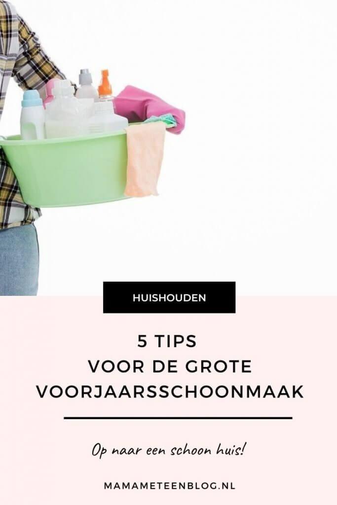 5 tips voor de grote voorjaarsschoonmaak mamameteenblog.nl