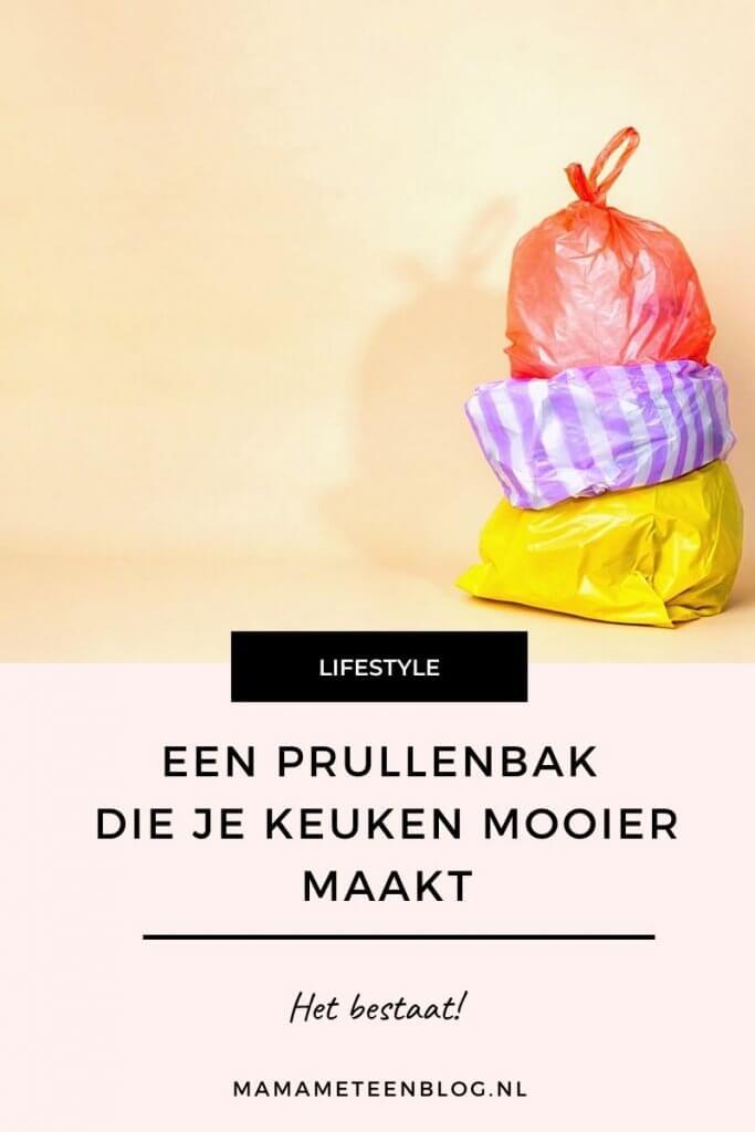 Een prullenbak die je keuken mooier maakt Mamammeteenblog.nl