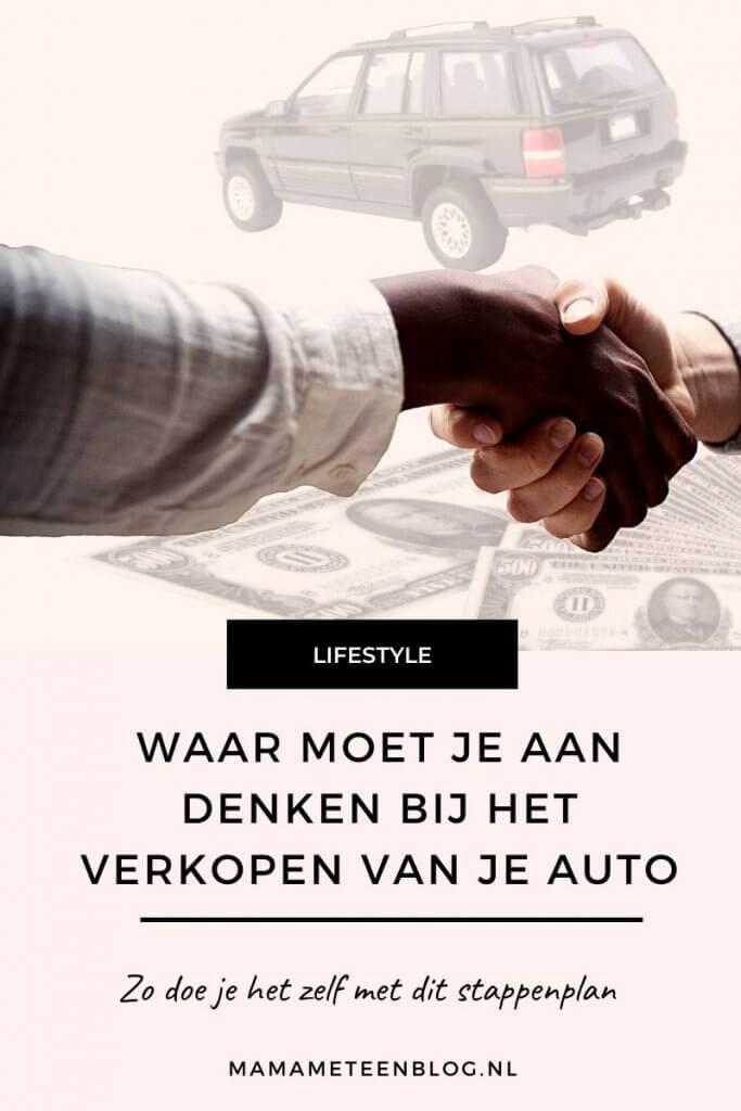 Waar moet je aan denken bij het verkopen van je auto mamameteenblog.nl
