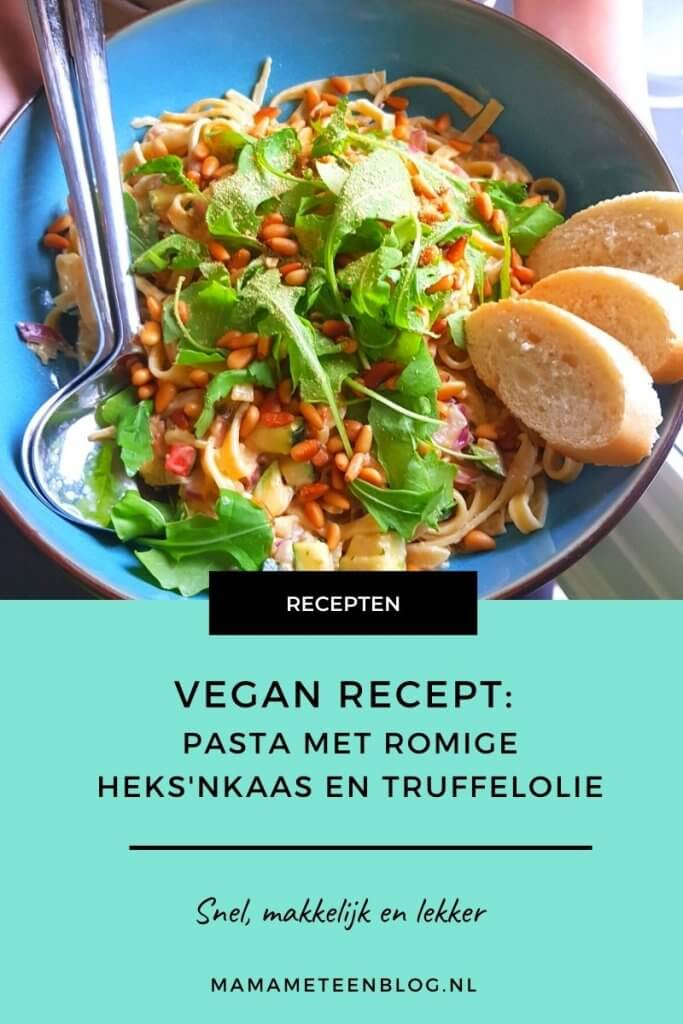 Vegan heksnkaas pastarecept Mamameteenblog.nl (1)